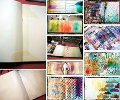 'Art Journal Every Day: My Three Best Tips...!' (via Balzer Designs)