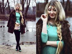 Persunmall Dress, Romwe Jewelry, Ecugo Bag, Asos Shoes