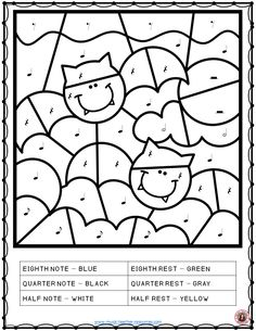 The 26 coloring pages consist of 24 coloring pages and 2 templates for the students (or you the teacher) to create their own Music Symbol Glyph.   An excellent addition to your music sub tub!   #musiceducation    #elmused