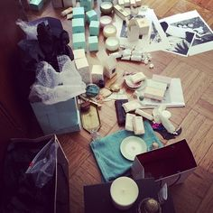 """@The Style Skinny's photo: """"""""Organized"""" for the shoot today...#tocca @tocca_ny #toccabeauty"""""""