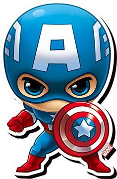 Aquarius Avengers Captain America Chibi Funky Chunky Magnet *** Be sure to check out this awesome product.