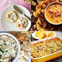 Four Wisconsin Cheese Dip Tips.