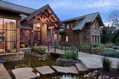 Chimney Rock Residence: Lakeside retreat built for entertaining