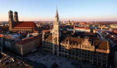 München, Marienplatz, Frauenkirche