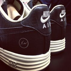 First Look: fragment design x Nike Lunar Force 1 Low
