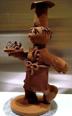 Cocinero de chocolate