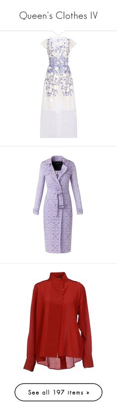 """Queen's Clothes IV"" by ms-perry on Polyvore featuring dresses, outerwear, coats, jackets, coats & jackets, burberry, lace trench coat, fitted trench coat, trench coats и fitted coat"