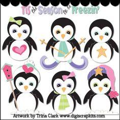 penguin profile clip art - Google Search