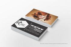 hair business card