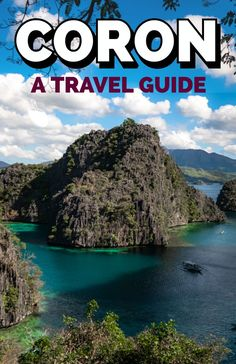A comprehensive travel guide to Coron Island in Palawan, Philippines - covering Kayangan Lake, island hopping tours, the other best things to do and more! Coron Palawan Philippines, Philippines Travel, Luang Prabang, Laos, Coron Island, Travel Guides, Travel Tips, Travel Advice, Africa Travel