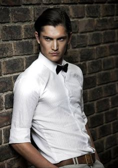 Marcel van der Merwe: One of the male models for the Androgyny shoot. Confirmed by Nicola
