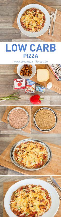 Low Carb Pizza Recipe I Low Carb Pizza Rezept