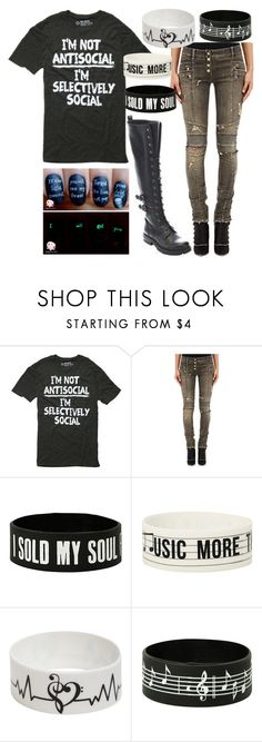 """""""Untitled #260"""" by aresgirl01 ❤ liked on Polyvore featuring Balmain"""