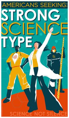 Seeking Strong Science Type by Humbleweed Creative rita@humbleweedcreative.com Protest Signs, Comic Books, Strong, Science, Posters, Artists, Type, Comics, American