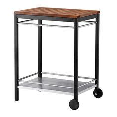KLASEN Carrito ext IKEA El carrito KLASEN proporciona más espacio para poner cosas y se puede mover cómodamente.
