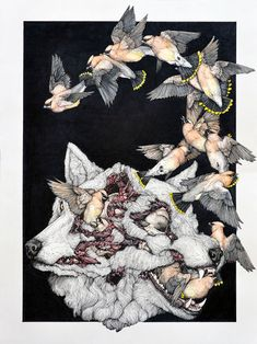 Who Killed Bambi? Bloody Good Art - Contemporary Art Blog- Lauren Marx