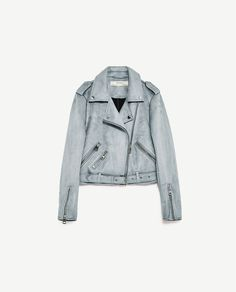 Image 11 of JACKET WITH ZIPS from Zara