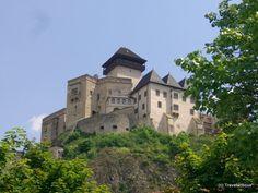 Trenčiansky hrad in Trenčín, Slovakia