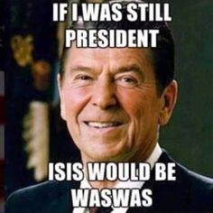 #NTB: Ronald Reagan ➠ If I Was Still President...