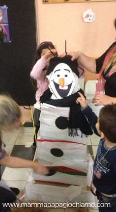 Frozen party ideas; #Frozen; #birthday Frozen; #crafts Frozen; #Olaf