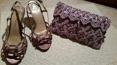 Macrame Purse, Macrame Knots, Micro Macrame, Macrame Bracelets, Clutch Wallet, Pouch, Crochet Clutch Bags, Jean Purses, Yellow Handbag