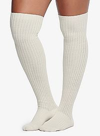 549c0fc5527e TORRID.COM - Ribbed Knee-High 2 Pack Socks Thigh High Socks