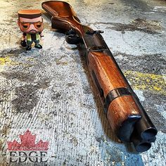 By @theshootingedgecanada 12 ga shotgun shorty… Side-by-side coach gun.  #yyc #theshootingedge #pewpewpew #pewpewlife #pewprofessional #12ga #shotguns #gunporn #gunpictures #sidebyside #coachgun #shorty