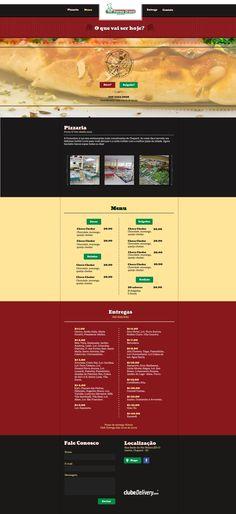 Desenvolvimento de Layout para Forno D'oro Pizzaria