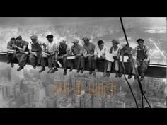 "Here's the trailer to an incredible documentary about the famous photo ""Lunch Atop A Skyscraper."" If you have the time, I would highly recommend watching this film about the building of NYC's skyscrapers, the risks taken by immigrant American workers in the early 1900s, and the historical investigation to uncover the identities of the men in this legendary photo."
