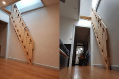 Amazing Tiny House Loft Staircase That Seamlessly Hides Away House Stairs Amazing Hides House Loft Seamlessly staircase Tiny Tiny House Stairs, Tiny House Loft, Tiny Loft, Tiny Houses, Loft Staircase, Staircase Design, Stairs To Loft, Railing Design, Basement Stairs