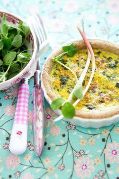 Ramp, Carrot and Chicken Mini Quiche Recipe