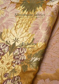 Richelieu Collection Silk Lampas