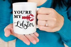 you're my lobster mug // Friends tv show // friends mug //