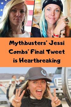 Professional racer, and TV personality, Jessi Combs, tragically died on Tuesday in a horrfic crash, and her last words are utterly heartbreaking. Jessi Combs, Thing 1, Viral Trend, The Day Will Come, Women In History, Other Woman, Funny Pins, Losing Her, New Pins