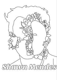 Shawn Mendes Drawing Drawings Peace Symbol Symbols