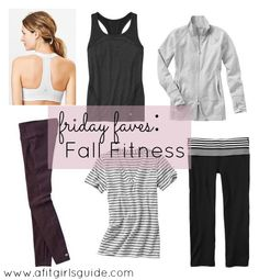 Friday Faves: Fall Fitness| A Fit Girl's Guide- Health & Fitness Blog