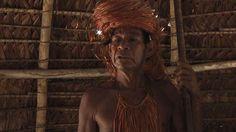 Pagé da tribo Jaguá, na Amazônia