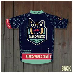 For all the any-legged, any-wheeled adventurers, we bring you the official BARKS+WRECK cycling gear! Introducing the official BARKS+WRECK cycling. Cycling Wear, Cycling Jerseys, Cycling Bikes, Cycling Outfit, Cycling Equipment, Cycling Clothing, Bike Wear, Bike Kit, Bicycle Maintenance