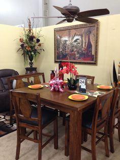 V&S Furniture Display at the Fresno Fall Home Improvement Show, November 8,9,10, 2014.
