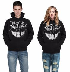 Find More Hoodies & Sweatshirts Information about Fashion Europe Hot Cheshire cat smiling face digital printing personality Couples leisure fitness sweatershirts,High Quality cat smile,China smiling cat Suppliers, Cheap sport sport from Riel Technology Co.,LTD on Aliexpress.com