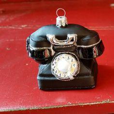 Hello...is it me you're looking for..? #glassornaments #retro #oldschool #phone #christmasornaments #christmas #polishornaments #vintagetreasures #dallaschristmas #instachristmas #christmastree  @glass_christmas_ornaments