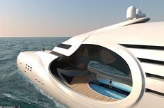 The Infinitas design by Schopfer Yachts