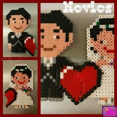 Wedding hama beads by gurrikis