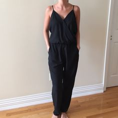 RBL pants jumper black in excellent condition RBL Pants Jumpsuits & Rompers
