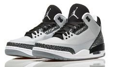 "Air Jordan 3 ""Wolf Grey"" (Official Images) | KicksOnFire.com"
