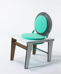 Segunda silla sacada de una lavadora