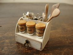 dollhouse miniature accessory for kitchen
