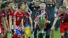 Jupp Heynckes Wallpaper Champions League Winners 2013