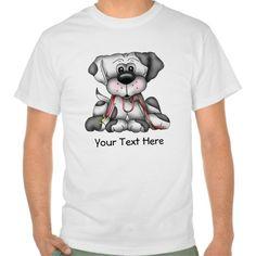 Dog With Leash (Customizable) Tee T Shirt, Hoodie Sweatshirt