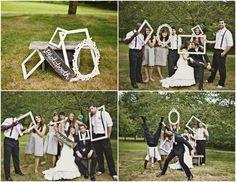 Chic Wedding Decor: Empty Picture Frames : Bajan Wed